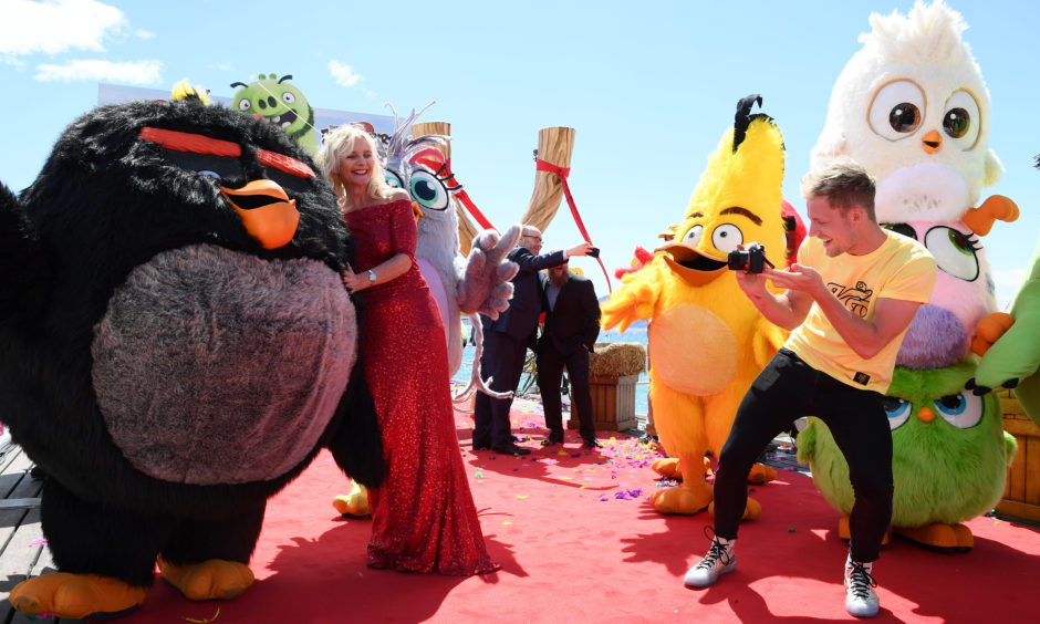 IN PICTURES: Angry Birds help to launch 2019 Cannes Film