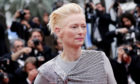 Tilda Swinton attends   the 72nd annual Cannes Film Festival