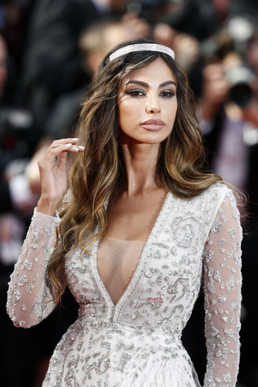 """Madalina Diana Ghenea attends the screening of """"Once Upon A Time In Hollywood"""" during the 72nd annual Cannes Film Festival on May 21, 2019 in Cannes, France"""