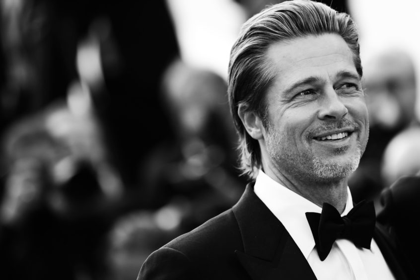"""Brad Pitt attends the screening of """"Once Upon A Time In Hollywood"""" during the 72nd annual Cannes Film Festival on May 20, 2019 in Cannes, France."""