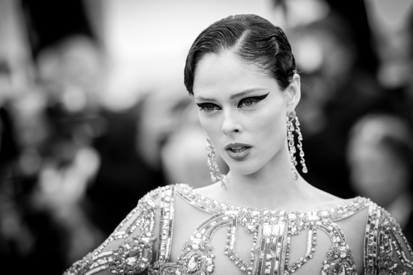 """Coco Rocha attends the screening of """"Once Upon A Time In Hollywood"""" during the 72nd annual Cannes Film Festival on May 21, 2019 in Cannes, France."""