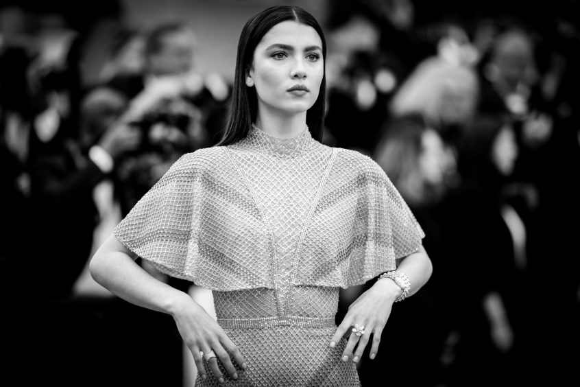 """Maya Henry attends the screening of """"Once Upon A Time In Hollywood"""" during the 72nd annual Cannes Film Festival on May 21, 2019 in Cannes, France."""