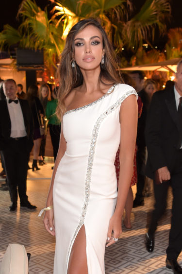 Madalina Diana Ghenea attends the Once Upon A Time In Hollywood After Party at JW Marriott on May 21, 2019 in Cannes, France.