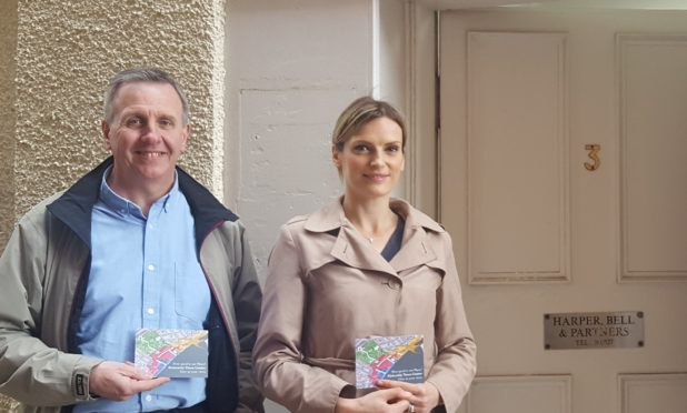Amy Harper and Archie Bell from Harper Bell & Partners Dental Practice