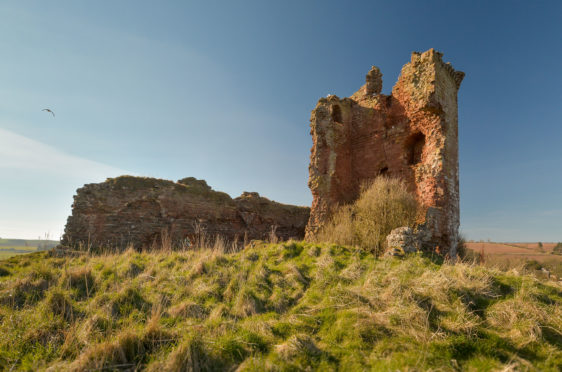 The castle is not looking great': Historic Angus ruin is 'accident