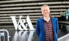 V&A Dundee director Philip Long outside the museum