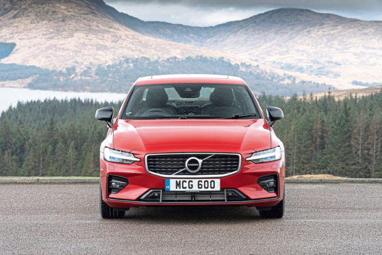 Pitlochry to Glencoe in sleek Volvo S60 - The Courier