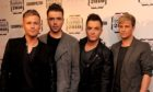 Westlife who are appearing in Glasgow