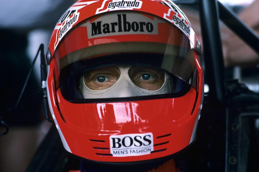 F1 Legend Niki Lauda Dies At 70 announced on May 21, 2019 Niki Lauda, Grand Prix of Brazil, Interlagos, 07 April 1985.
