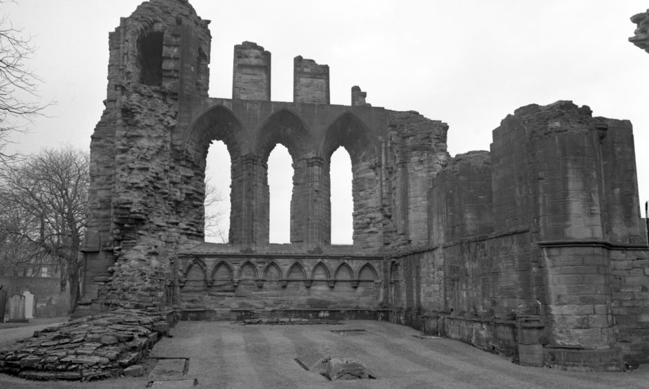 Arbroath Abbey. 1963.