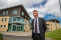 Rector Steve Ross says Beath High School which see a significant improvement in attainment