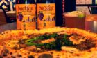 Buckfast-flavoured pizza.