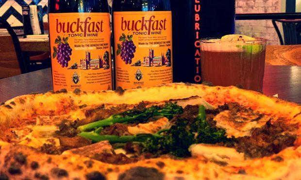 Buckfast-flavoured pizza.