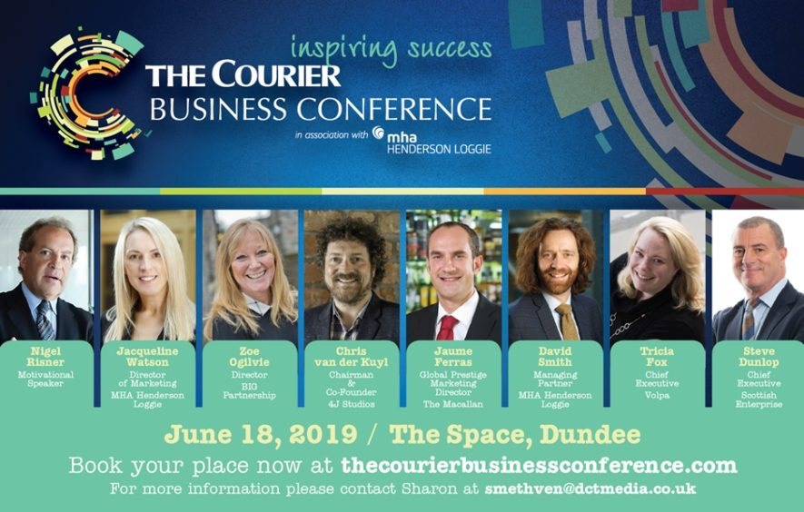 Courier Business Conference: The time is right for inspiring
