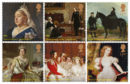 Royal Mail  photo of one of their new set of 10 new Special Stamps to mark the bicentenaries of Queen Victoria and her husband, Prince Albert.