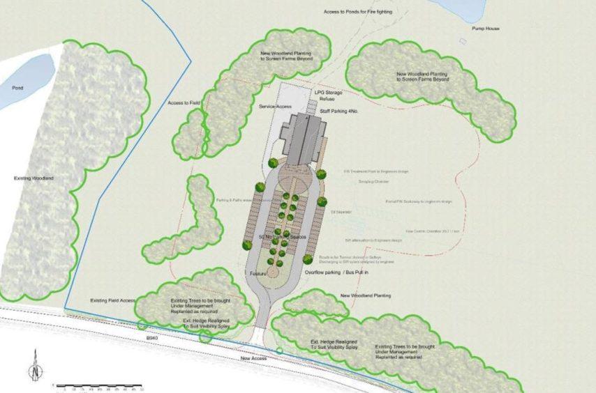 Plans for private crematorium near St Andrews resurrected