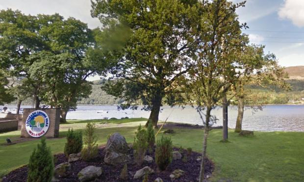 A general view of Loch Earn.