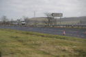 The A90 Drumlithie junction.