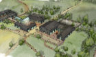 An artist impression of how plans for the Easterton Farm site could look