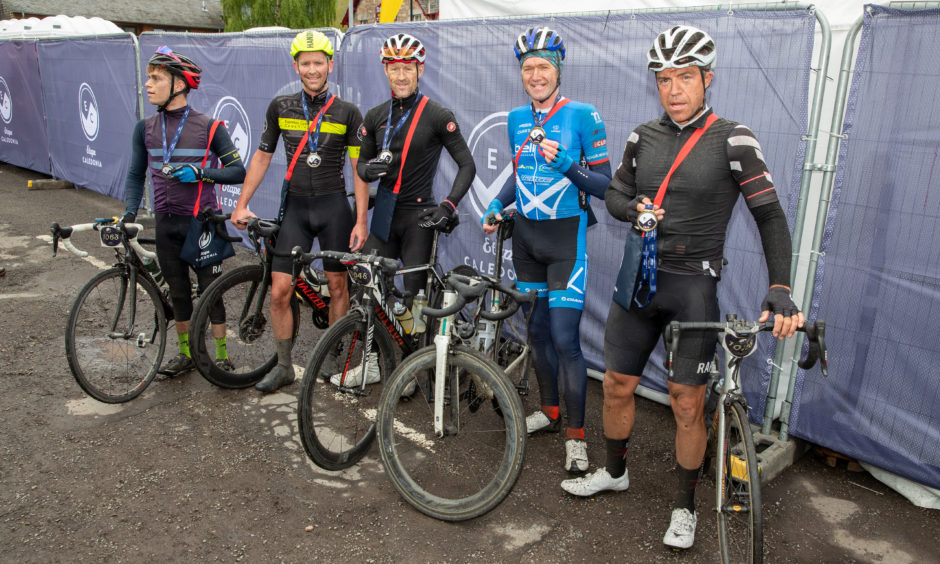 The first 5 riders across the line together were Ross Morris, Gary Hand, Alistair Cameron, Gary Paterson and John McCaffery.