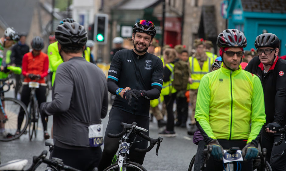 More than 3,000 cyclists took part.