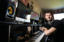 Brent Lawson in his studio at Friockheim.