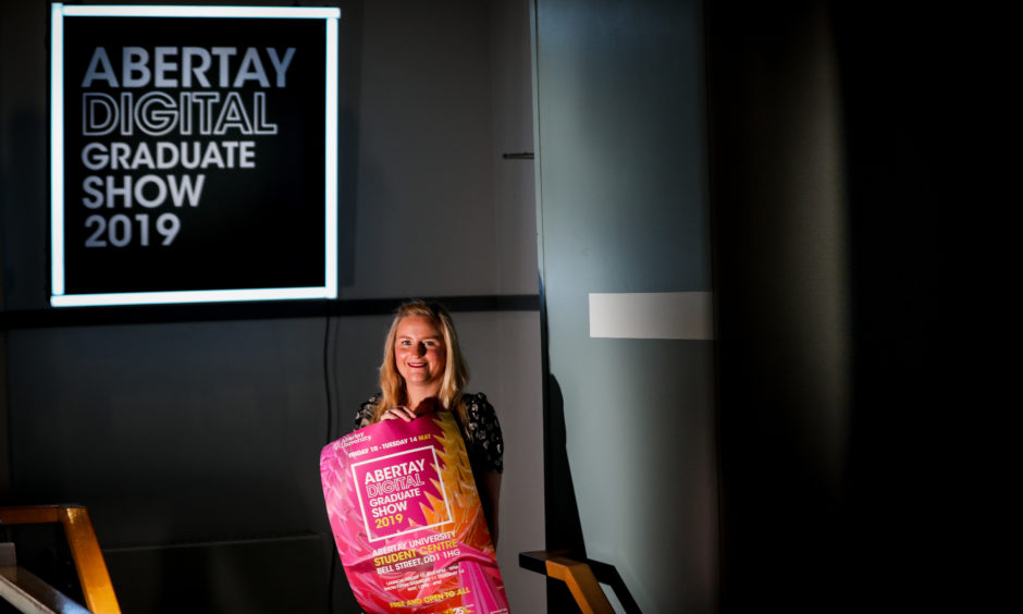 Clare Brennan - Curator of Abertay Digital Graduate Show.
