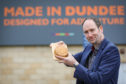 Martin Goodfellow, a director of bakers Goodfellow & Steven, with a Dundee Cake