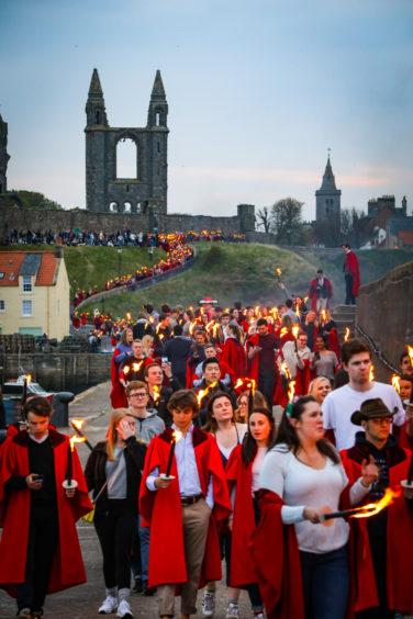 Gaudie procession.