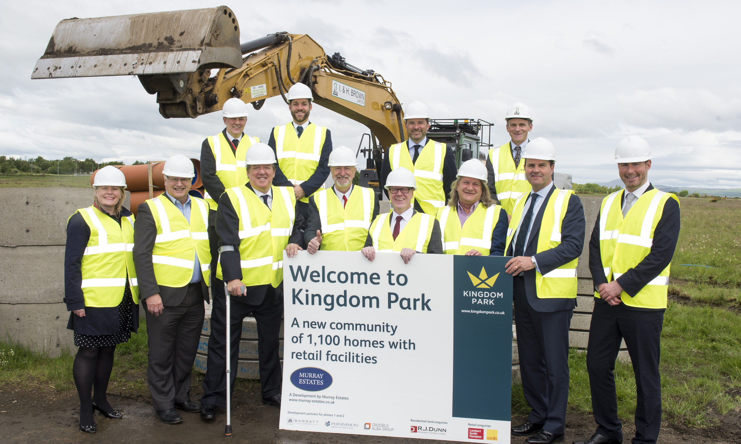 work starts on 1 100 new homes in kirkcaldy