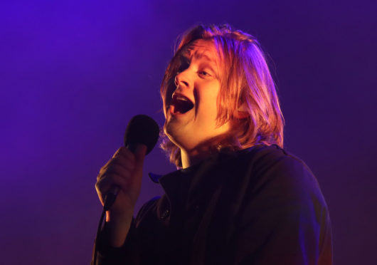 Lewis Capaldi is playing Perth Festival of the Arts.