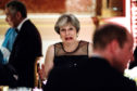 File photo dated 19/04/18 of Prime Minister Theresa May attending a dinner hosted by Queen Elizabeth II at Buckingham Palace in London during the Commonwealth Heads of Government Meeting. The Prime Minister is expected to announce details later today of her timetable for leaving Downing Street. PRESS ASSOCIATION Photo. Issue date: Friday May 24, 2019. See PA story POLITICS Brexit. Photo credit should read: Jack Taylor/PA Wire