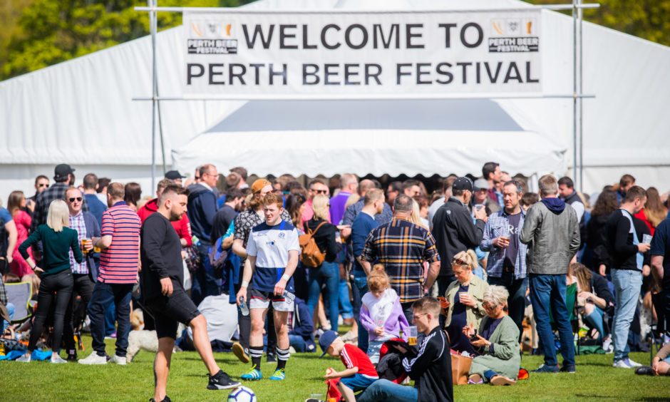 Around 4,500 revellers were in attendance at this year's annual Perth Beer Festival.
