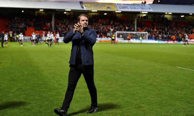 Robbie Neilson at full-time.