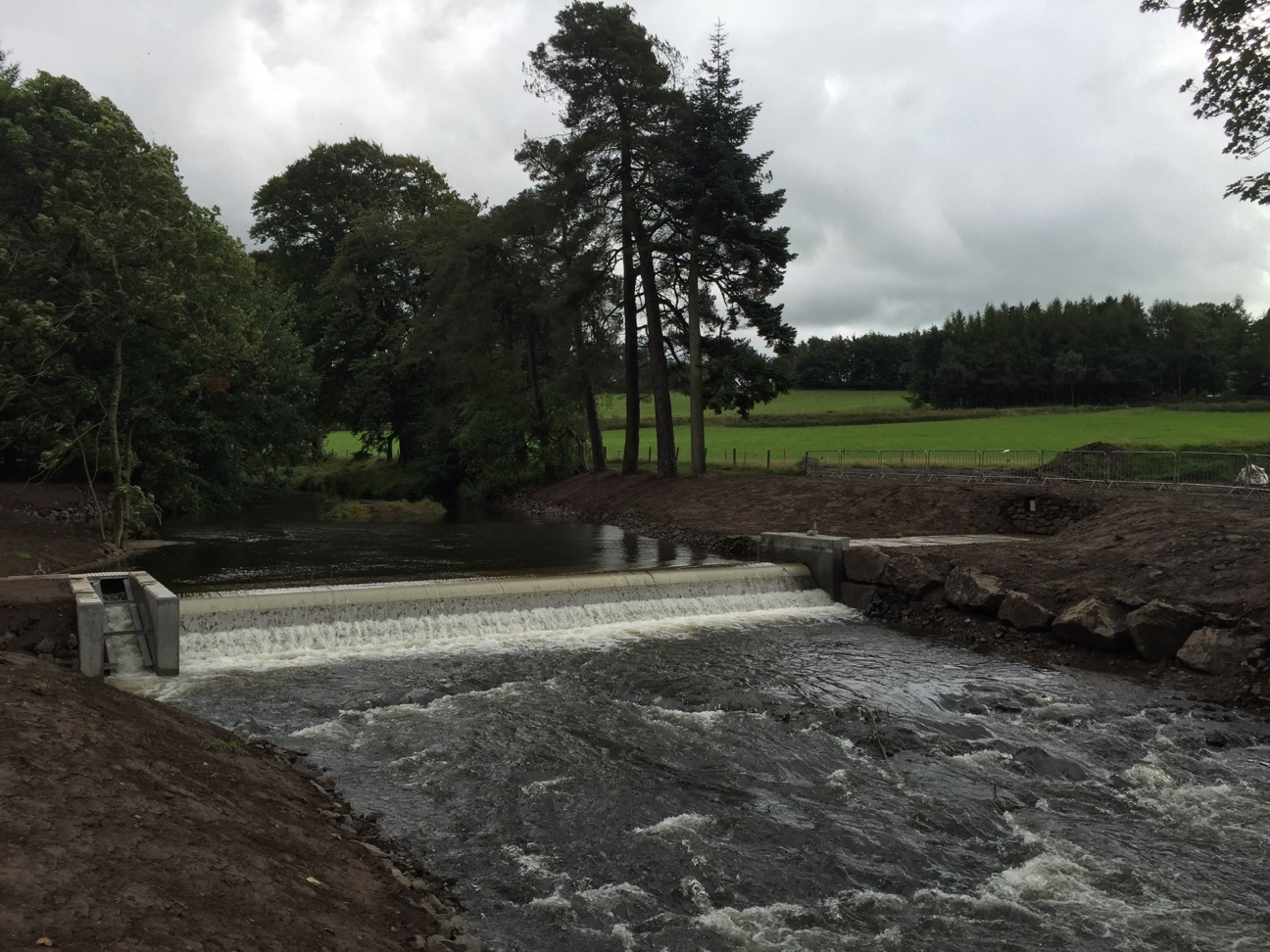 Hydro scheme funding helps Fossoway Gathering return after