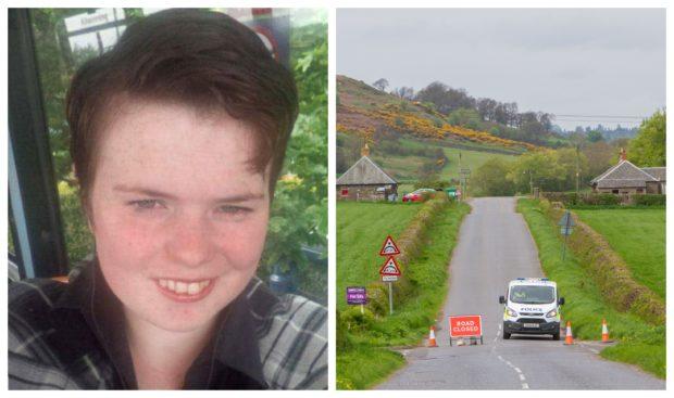 Annalise Johnstone was found dead near the B8062.