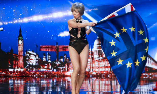 Kath Thompson shocked judges and viewers with her saucy striptease on Britain's Got Talent.