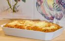 Cheese and chard souffle.