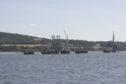 Braefoot Bay oil terminal.