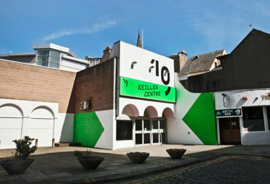 The Keiller Centre has been given a new look for the Dundee Design Festival