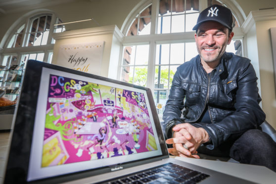 Phillip Vaughan, Senior Lecturer in Comics and Graphics Novels at DJCAD, Dundee University