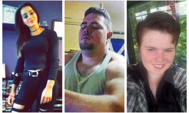L-R: Angela Newlands, Jordan Johnstone and Annalise Johnstone.