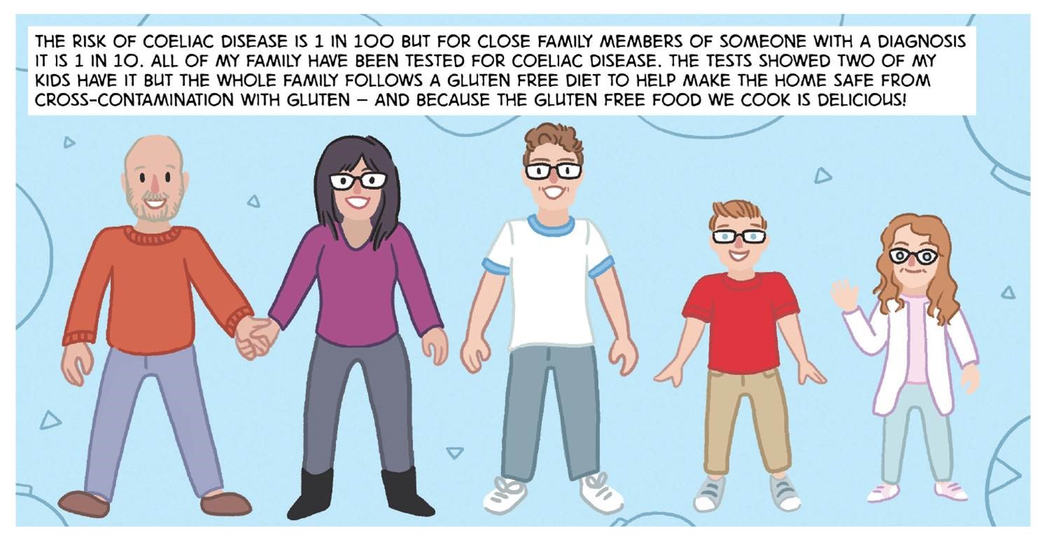 Understanding Coeliac Disease: The comic with a serious message - The Courier