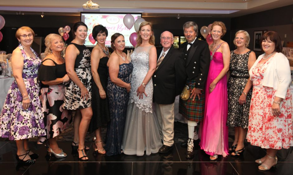 The 2017 TCCL ball in Dundee