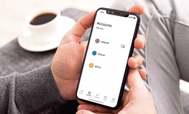 The PaySend app
