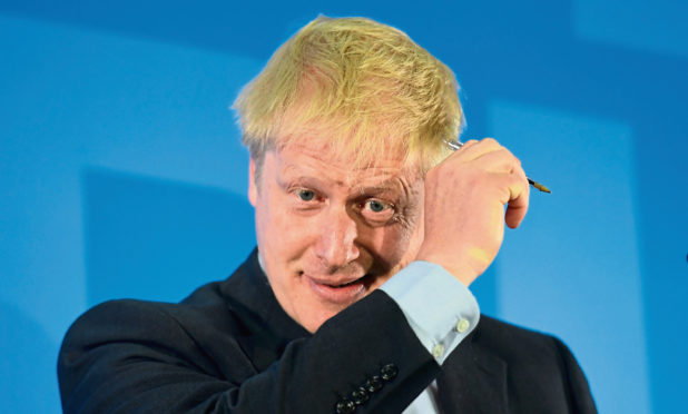 Boris Johnson during the launch of his campaign to become leader of the Conservative and Unionist Party and Prime Minister at the Royal Academy of Engineering in central London.