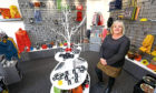 Caroline Smith inside her new Carnoustie shop.