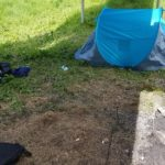 """""""Human poo is not cool"""": Anger as Aberfeldy campers leave behind beer cans, tents and human waste"""