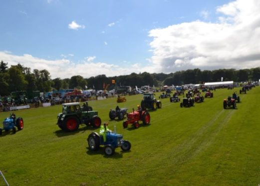The event is popular in Brechin every year,