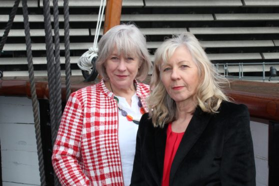 Ann Porter, left, and Anne Rendall, right.